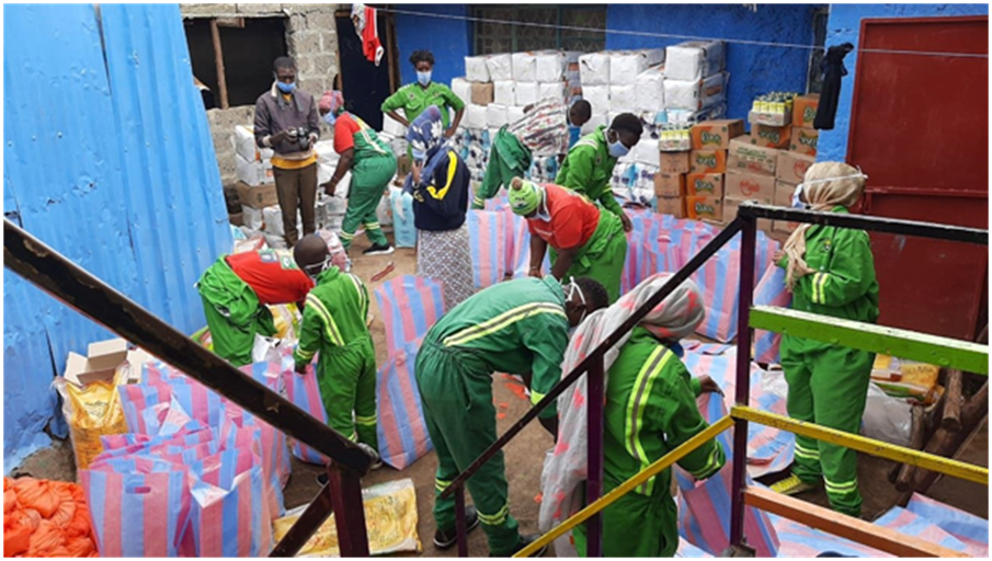 YOUTH-LED EMERGENCY RESPONSE IN KENYA'S INFORMAL SETTLEMENTS